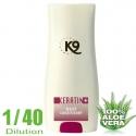 shampoing pour chien K9 Apres shampoing Kératine hydratant 300ml