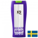 shampoing pour chien K9 Conditionneur chien blanc Sterling Silver Keratine