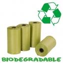 Sacs ramasse crottes biodégradable 4 X 20