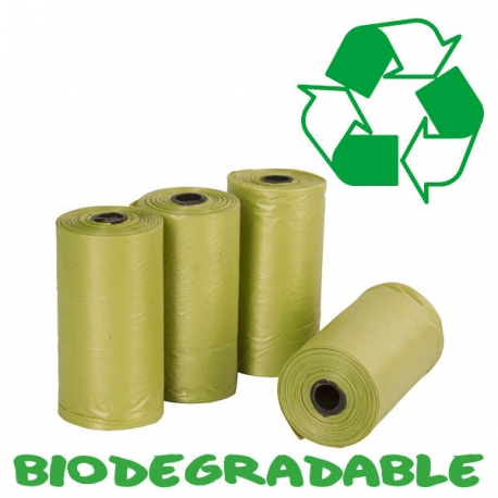 Sacs a crottes biodégradable 4 X 20