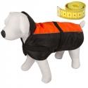 Manteau d'hiver chien Solden fente laiss