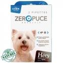 Pipette chien Zéro Puce moins 10kg Naturel