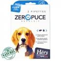 Pipette chien Zéro Puce 10 a 25kg Naturel