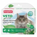 3 Pipettes Antiparasitaire Chat Vetonature