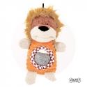 Peluche chien Lion avec balle intégrée