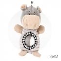 Peluche chien Hippopotame avec balle intégrée