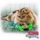 KONG Wubba Wicker Osier jouet chat