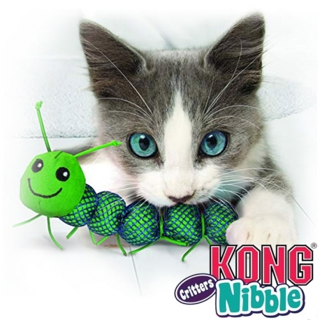 Kong Nibble Critters Bestioles pour chat