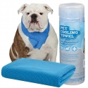 Pet cooling towel - Serviette rafraîchissante