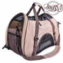 Sac de transport petit chien marron Doggy Fashion