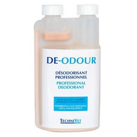 DE-ODOUR desodoriant special chien chat 1 L