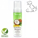 Shampoing sans rinçage naturel TropiClean Papaya Waterless Chien Chat