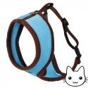 Harnais pour chat Active Bleu