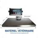 Balance vétérinaire numérique 150kg