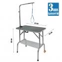Table Pliante 81x51cm & potence