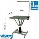 Table toilettage semi professionnel hydraulique