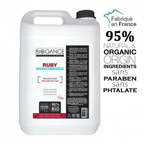 BIOGANCE RUBY apres shampoing