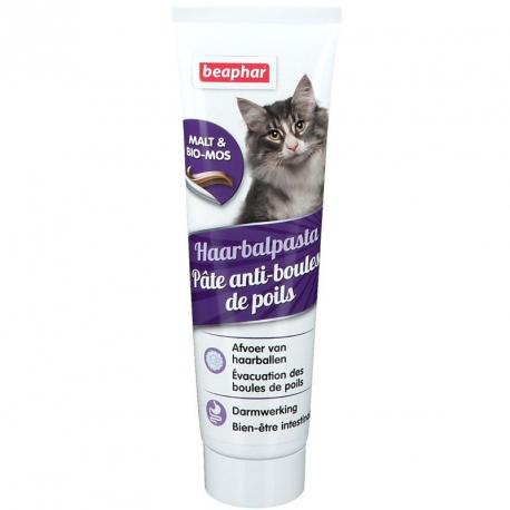Pâte anti-boules de poils pour chat
