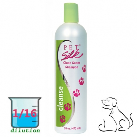 Shampooing Pet Silk Clean Scent 473ml