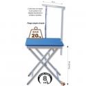 Table pliante réglable légère & potence