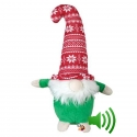 Peluche Gnome de Noël 33 cm