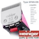 Heiniger Saphir Rose 2 accus