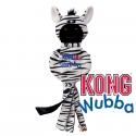 Kong Wubba No Stuff Zebra