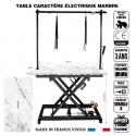 Table 120 x 60 Gaantie 3ans couleur marbre