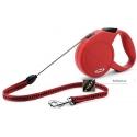 Flexi New Classic Rouge Cordon 5m - 12kg