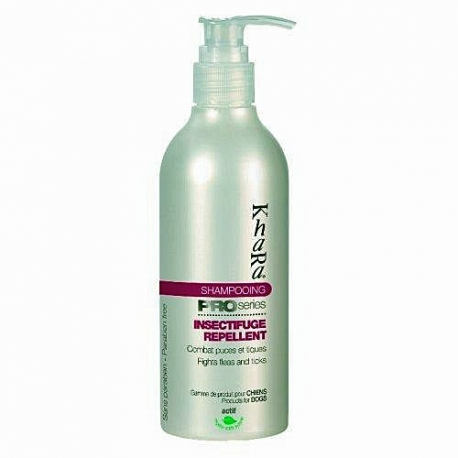 Shampooing insectifugue pour chien Khara