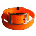 Collier chasse 25mm polyuretane  Orange Fluo