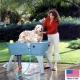 Bathtub bath country baignoire portable pour chien