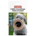 Collier Anti puce Chien - Chiot Beige