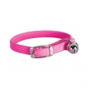 COLLIER POUR CHAT SECURITE ROSE