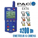 COLLIER EXT6 6 CHIENS  3200m PAC ORIGINE CEE