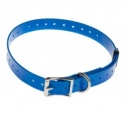 Collier polyurethane Bleu 20mm