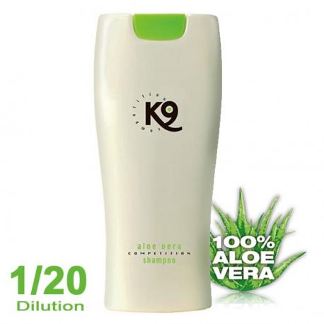 shampoing pour chien K9 Shampoing Aloe Vera 300ml