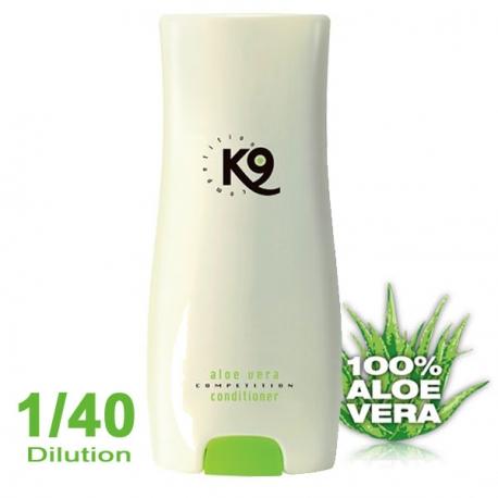 shampoing pour chien K9 apres shampoing Aloe Vera 300ml