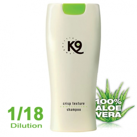 shampoing pour chien K9 Competition Crisp Shampoing Texture 300 ml