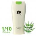 shampoing pour chien K9 Shampoing blanc Whiteness 300 ml