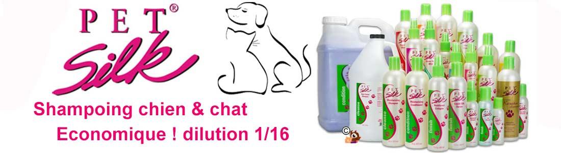 shampoing pour chien et chat